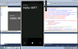 Hellow WP7